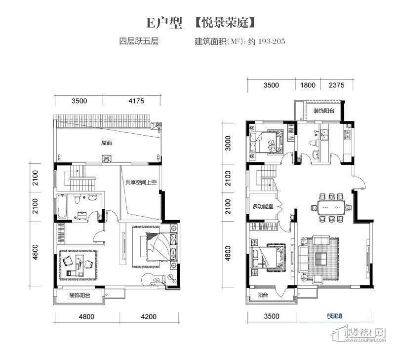 三期高层20号楼标准层F1户型