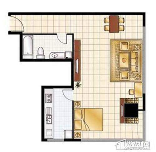 3#楼标准层户型