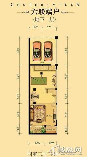 中海龙湾二期六联端户四室三厅三卫-11 263.00㎡