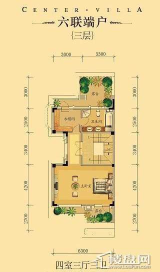 中海龙湾二期六联端户四室三厅三卫-14 263.00㎡