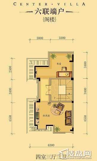中海龙湾二期四联端户四室三厅三卫-05 313.00㎡