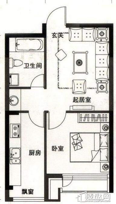 华茂中心户型图