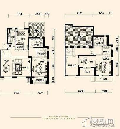 唐轩·公馆洋房户型折页-D1-5-013室2厅2卫