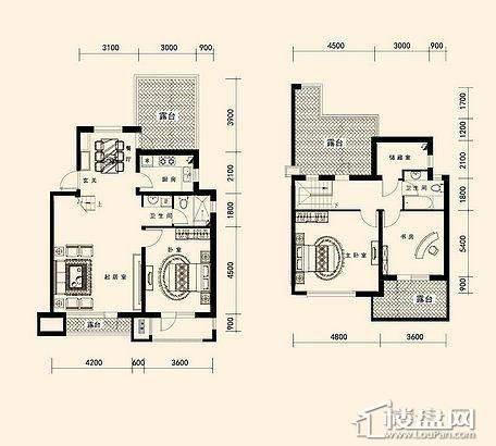 唐轩·公馆洋房户型折页-D2-5-013室2厅2卫