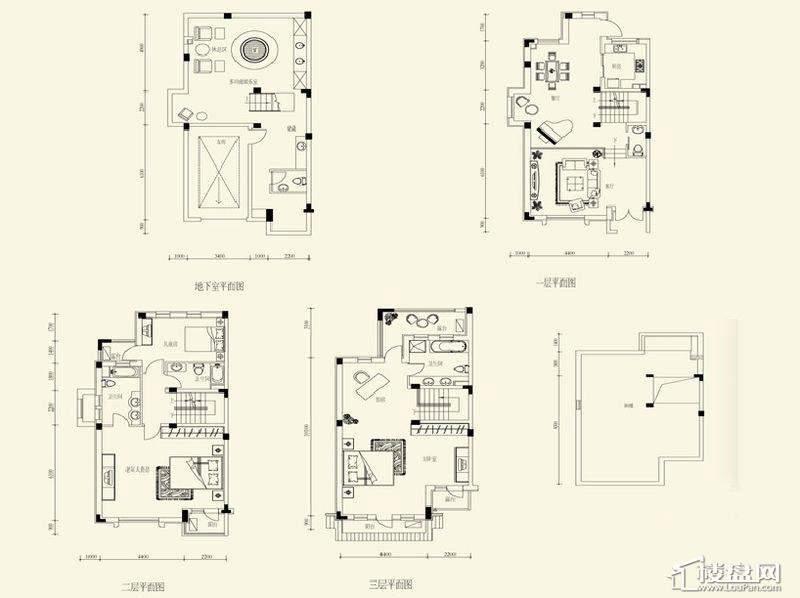 上置·香岛原墅户型图