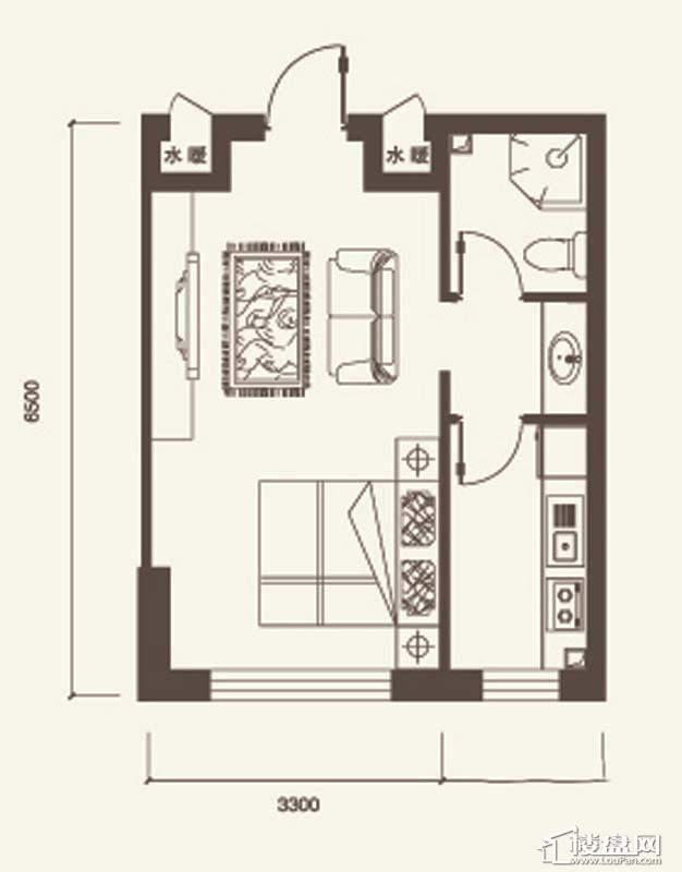I户型4室2厅2卫