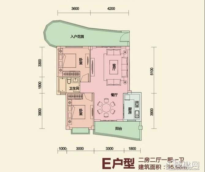 后海温泉小镇户型图