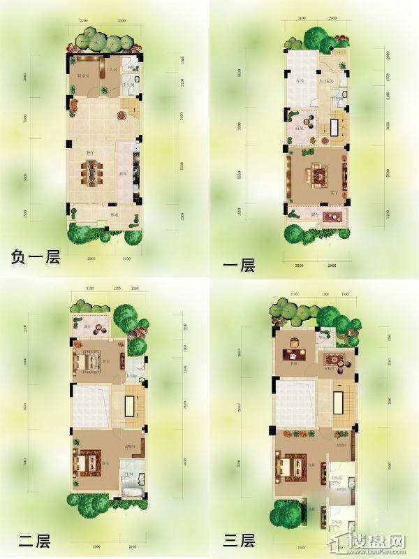 奇峰香山林海户型图
