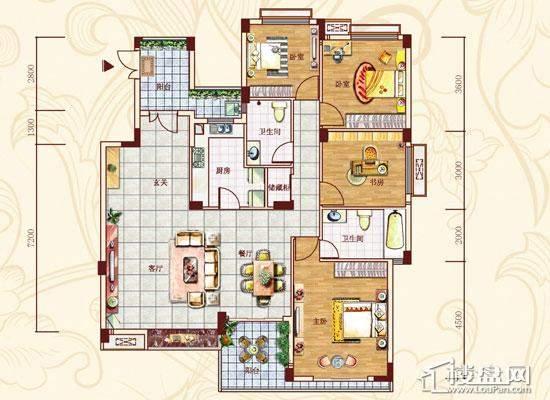 金菲豪园户型图151