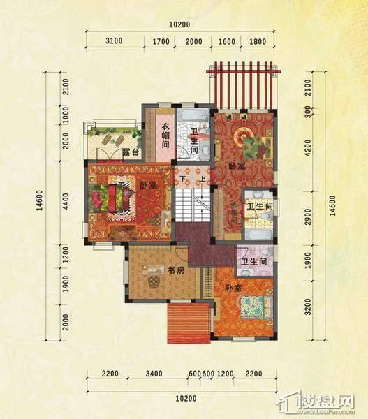 嘉和城户型图