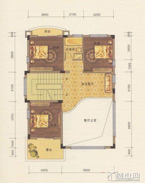 八桂绿城户型图