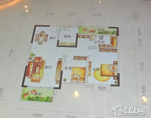 中国水电观府壹号户型图