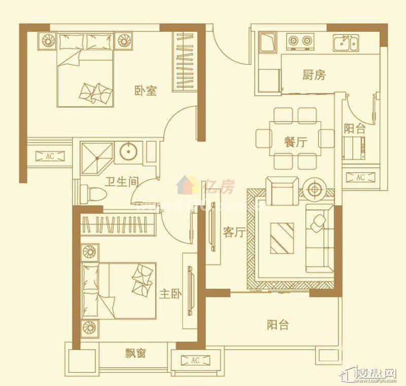 武汉万锦江城户型图