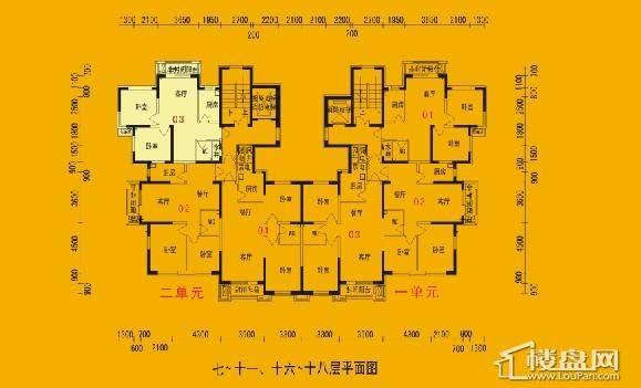 碧桂园银河城户型图
