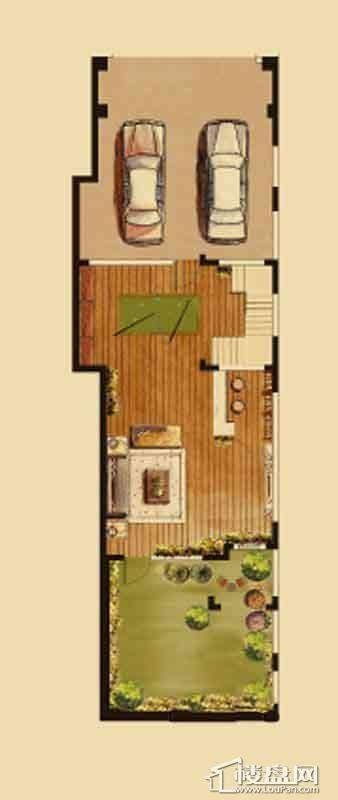 汇置尚都联排TH1地下一层5室2厅4卫