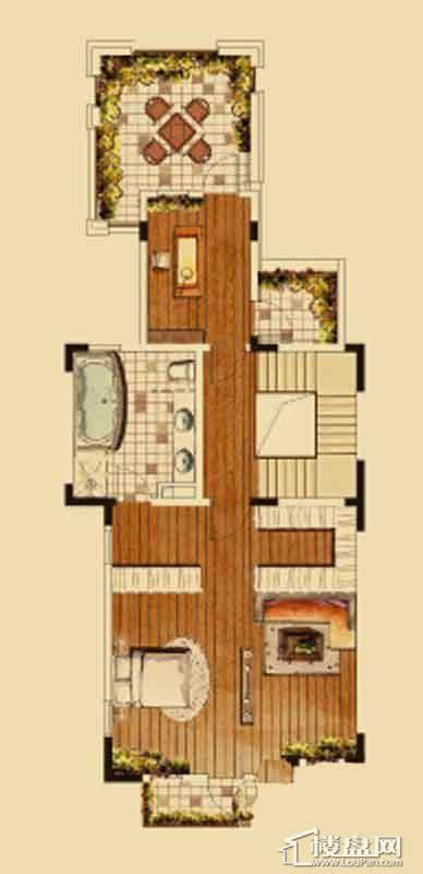 汇置尚都联排TH1三层5室2厅4卫