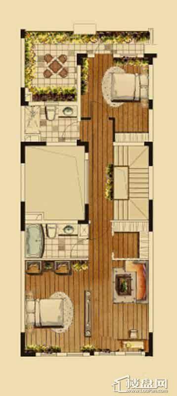 汇置尚都联排TH4二层4室2厅4卫