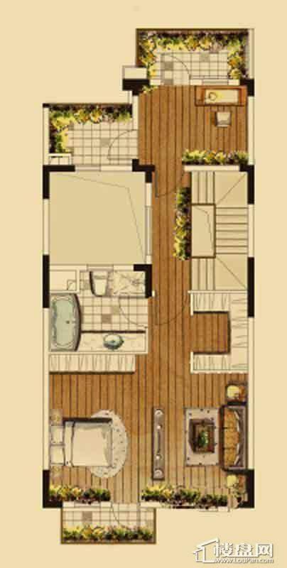 汇置尚都联排TH4三层4室2厅4卫