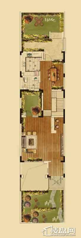 汇置尚都联排TH4首层4室2厅4卫