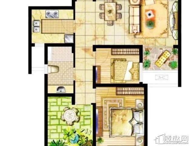 2室 户型图2室1厅1卫1厨