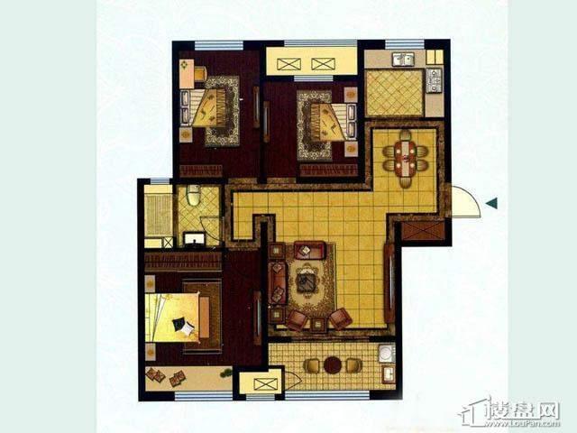 106平米经济三房