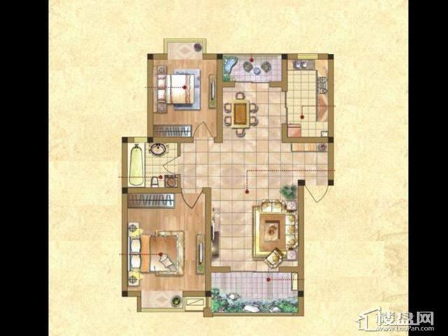 D-C(宽景尊邸) 2室2厅1卫