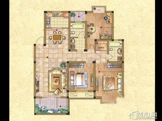 D-G(锦绣观邸) 3室2厅2卫