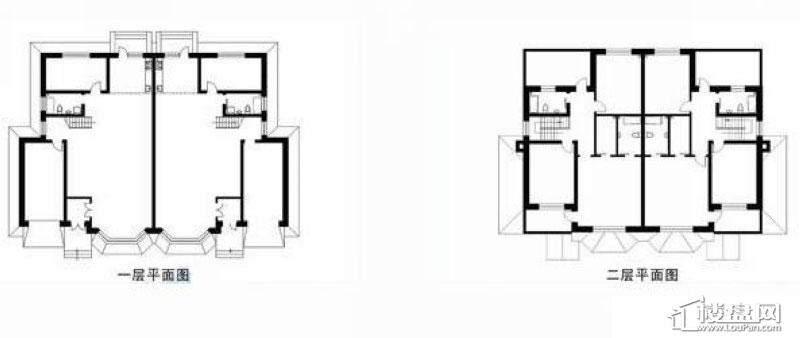 拙墅DS-1户型图4室2厅2卫1厨-307