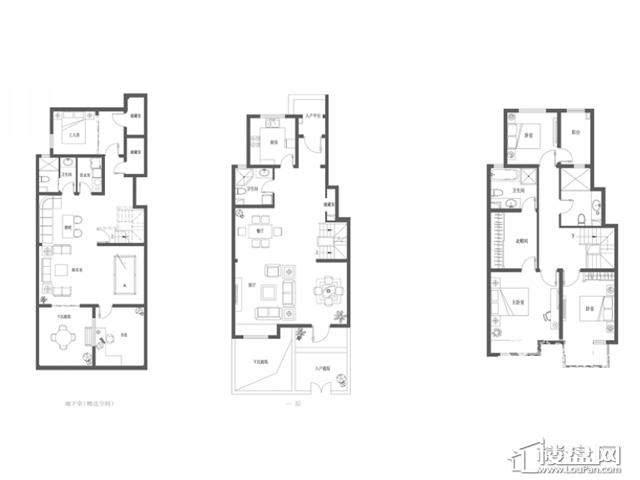 B2澜香户型(售罄)3室2厅4卫 170.00㎡