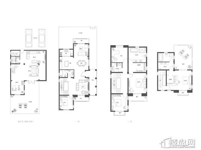 C1滟香户型(售罄)5室2厅5卫 260.00㎡
