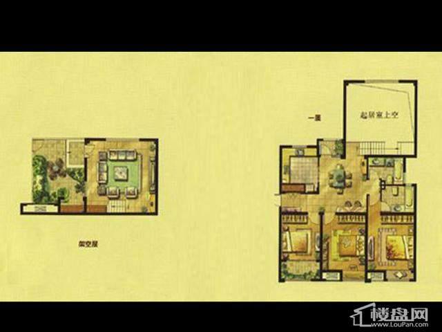 绿地波士顿公馆洋房HC13室2厅2卫 151.00㎡