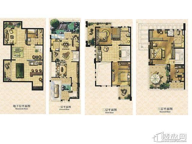 B1户型5室3厅4卫 230.00㎡