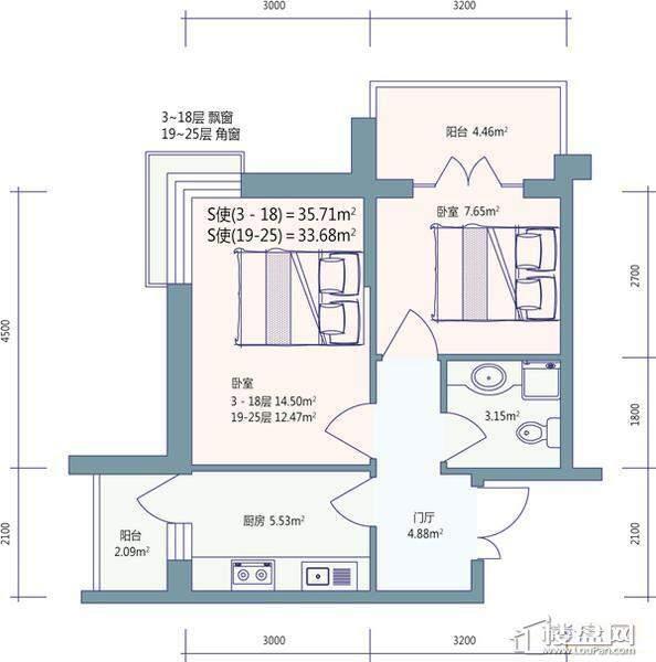 好民居滨江新城户型图