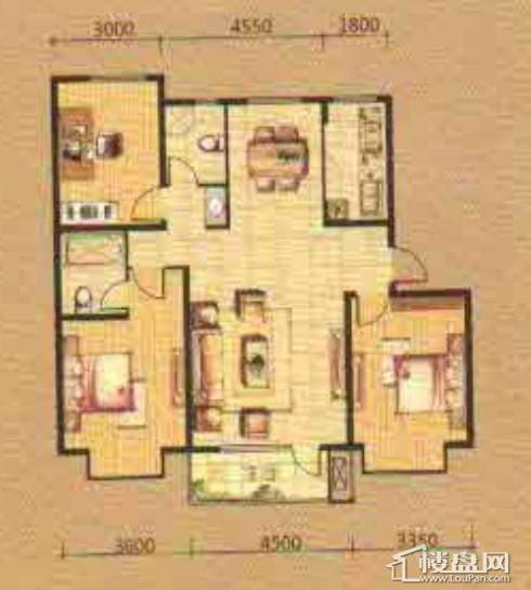 紫提东郡三室两厅两卫