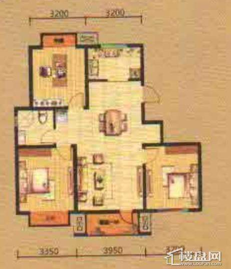 紫提东郡三室两厅一卫
