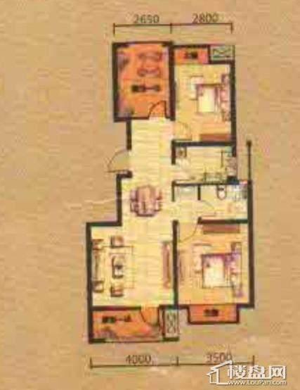 紫提东郡两室两厅一卫