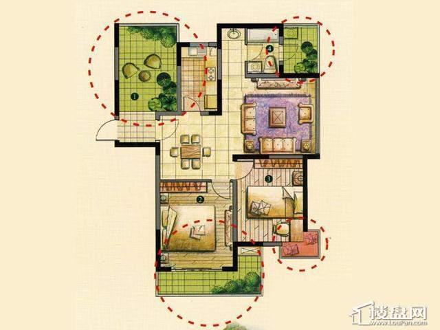 C2室2厅1卫 109.00㎡