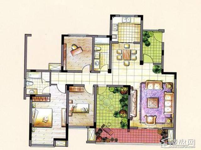 L43室2厅2卫 135.00㎡