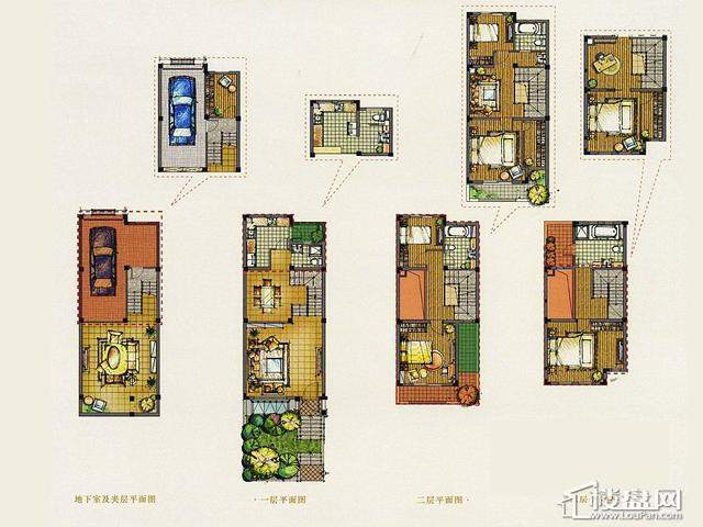 A2N户型4室3厅3卫 248.00㎡