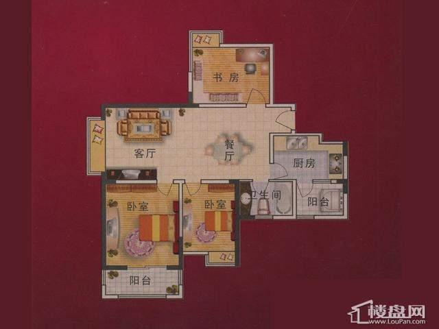 3室2厅1卫 109.02㎡