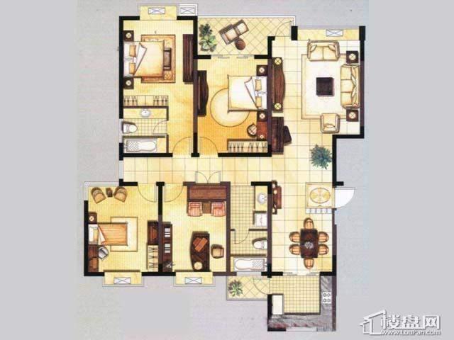 2厅2卫 173.94㎡