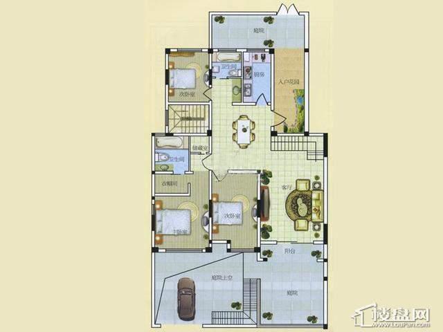 A13室2厅2卫 145.00㎡