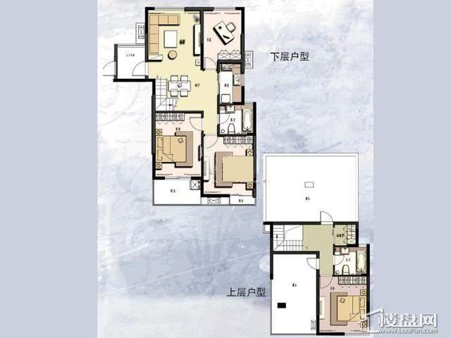 C'户型4室2厅2卫 141.00㎡