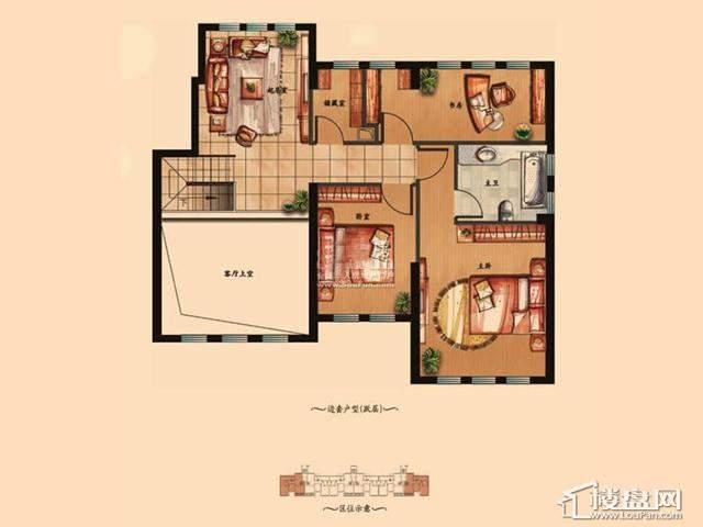 (上层)6室3厅2卫 198.21㎡