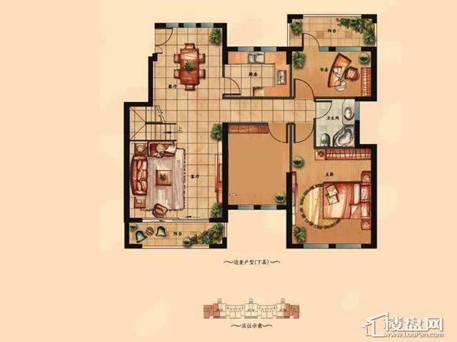 (下层)6室3厅2卫 198.21㎡