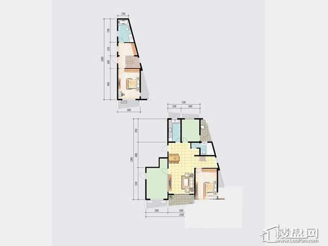7号楼JGY-1户型4室2厅2卫 160.00㎡