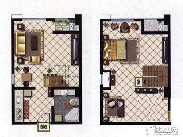 天奇盛世豪庭D2室1厅1卫 55.87㎡