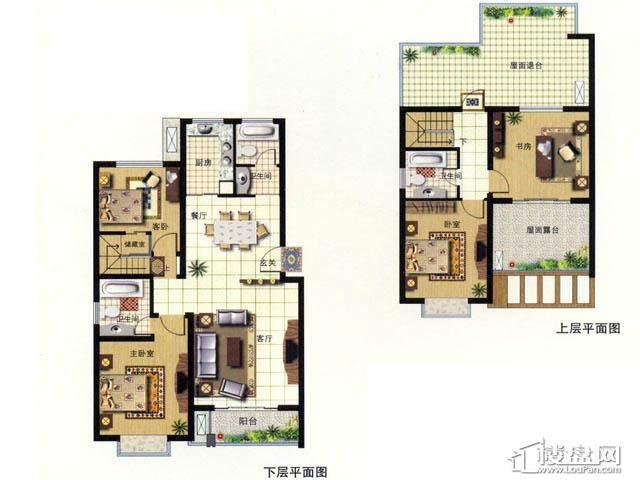 天奇盛世豪庭F44室2厅3卫 152.00㎡