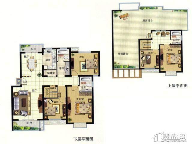 天奇盛世豪庭F55室2厅3卫 188.00㎡