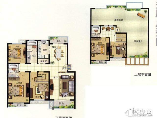天奇盛世豪庭F65室2厅3卫 187.00㎡